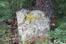 It wasn't a rock. It was a rock with an arrow!